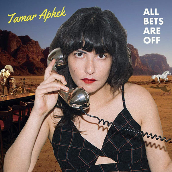 Tamar Aphek - All Bets Are Off (LP - LIMITED VIOLET COLOR VINYL) Kill Rock Stars