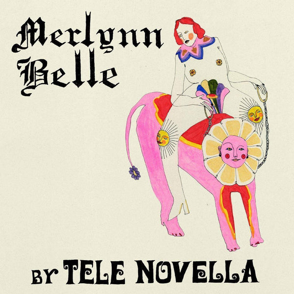 Tele Novella - Merlynn Belle (LP - LIMITED EDITION OPAQUE GREEN VINYL) Kill Rock Stars
