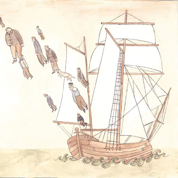 The Decemberists - Castaways and Cutouts (LP) Kill Rock Stars