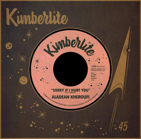 "Aladean Kheroufi - Sorry If I Hurt You b/w Nothing Ever Changes (7"") Kimberlite Records"