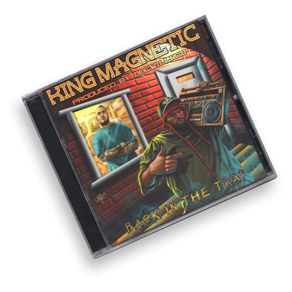King Magnetic - Back In The Trap (CD) King Mag Music