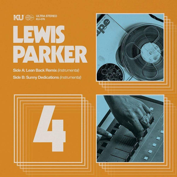 "Lewis Parker - The 45 Collection No. 4 (7"") KingUnderground"
