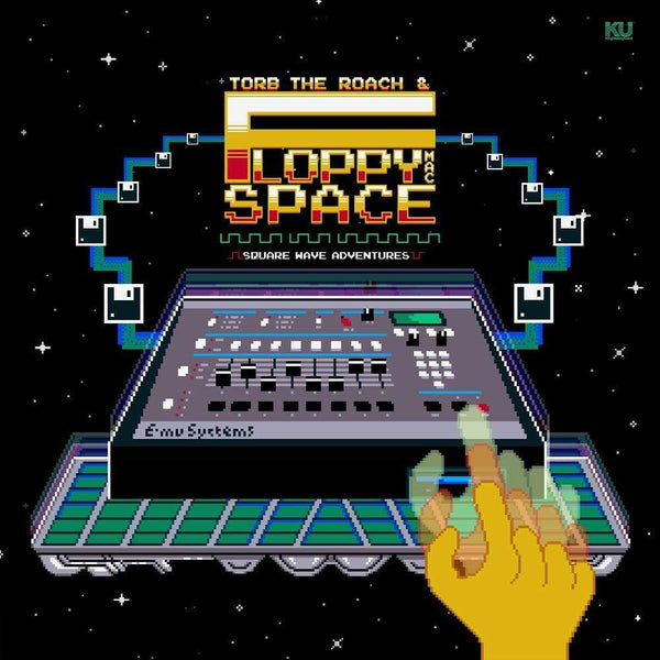 Torb The Roach & Floppy Mac Space - Square Wave Adventures (LP) KingUnderground