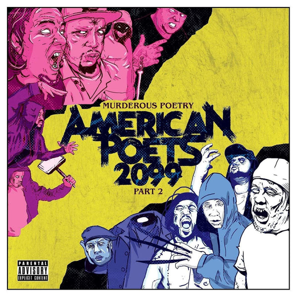 American Poets 2099 - Murderous Poetry Part 2 (CD) Know The Names Music Group