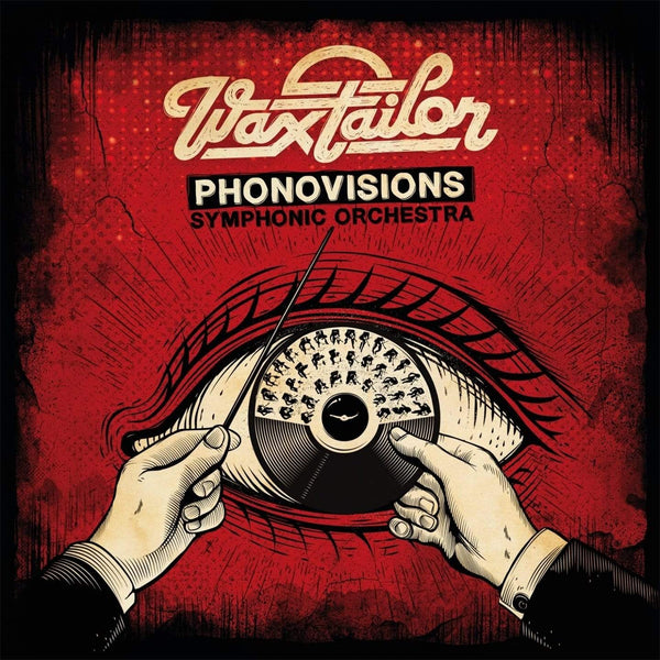 Wax Tailor - Phonovisions Symphonic Orchestra (CD + DVD + Book) Lab'oratoire