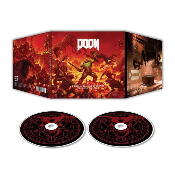 Mick Gordon - DOOM: Original Game Soundtrack (2xCD) Laced Records