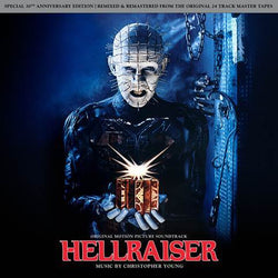 Christopher Young - Hellraiser: Original Soundtrack (LP - Red/Black Smoke Vinyl) Lakeshore Records