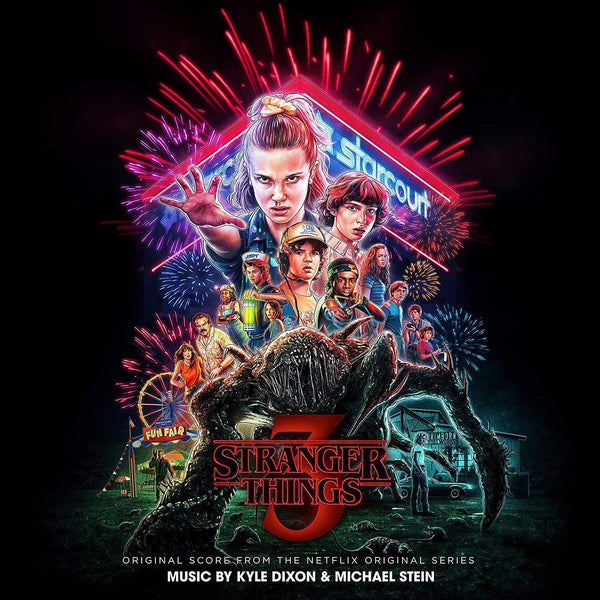 Kyle Dixon & Michael Stein - Stranger Things 3: Original Score From The Netflix Series (2xLP - Splatter Colored Vinyl - Gatefold) Lakeshore Records