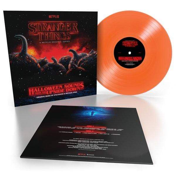 Stranger Things -  Halloween Sounds From The Upside Down (LP - Pumpkin Orange Vinyl) Lakeshore Records