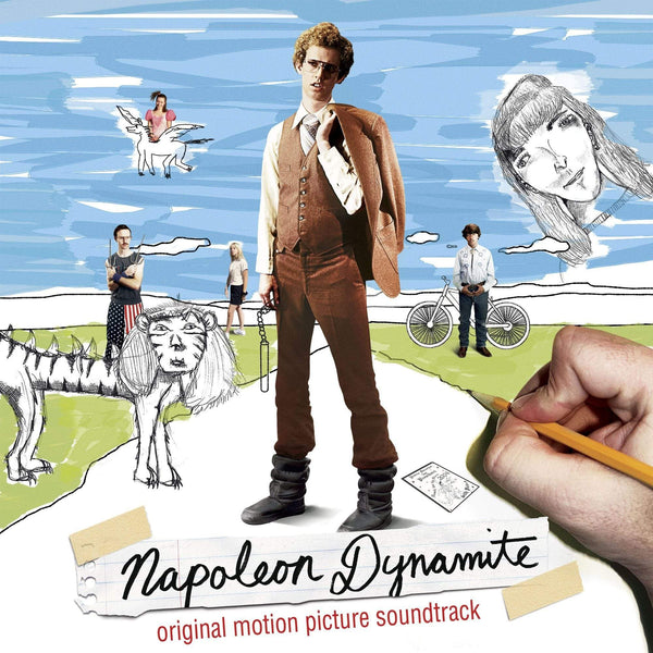 V/A - Napoleon Dynamite: Original Soundtrack (2xLP - Electric Liger Blue Vinyl) Lakeshore Records