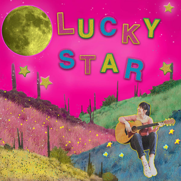 "Peach Kelli Pop - Lucky Star (7"") Lauren Records"