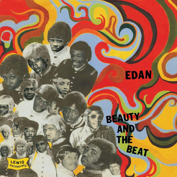 Edan - Beauty And The Beat (LP - Limited Red Vinyl) Lewis Recordings