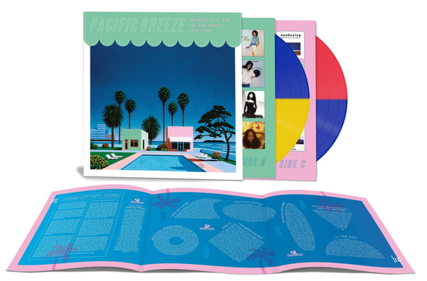 "V/A - Pacific Breeze: Japanese City Pop, AOR & Boogie 1976-1986 (2xLP - ""Beach Ball"" Colored Vinyl) Light In The Attic"