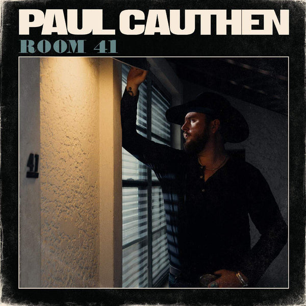 Paul Cauthen - Room 41 (LP - Clear Vinyl) Lightning Rod Records