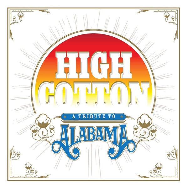 V/A - High Cotton: A Tribute To Alabama (2xLP - Translucent Blue Vinyl) Lightning Rod Records