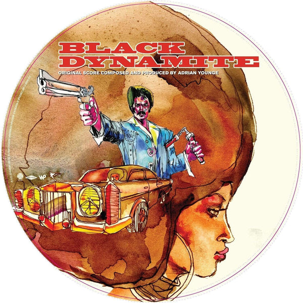 Adrian Younge - Black Dynamite: Official Motion Picture Score (LP - Picture Disc) Linear Labs