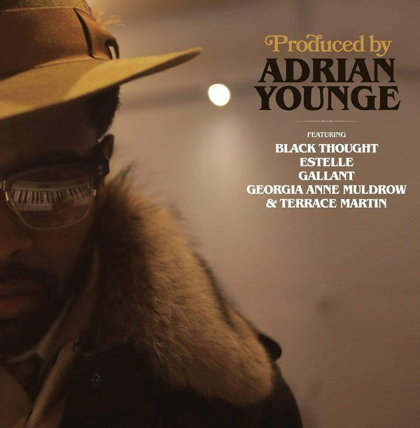 "Adrian Younge - Produced By: Adrian Younge (EP - 12"" Vinyl) Linear Labs"