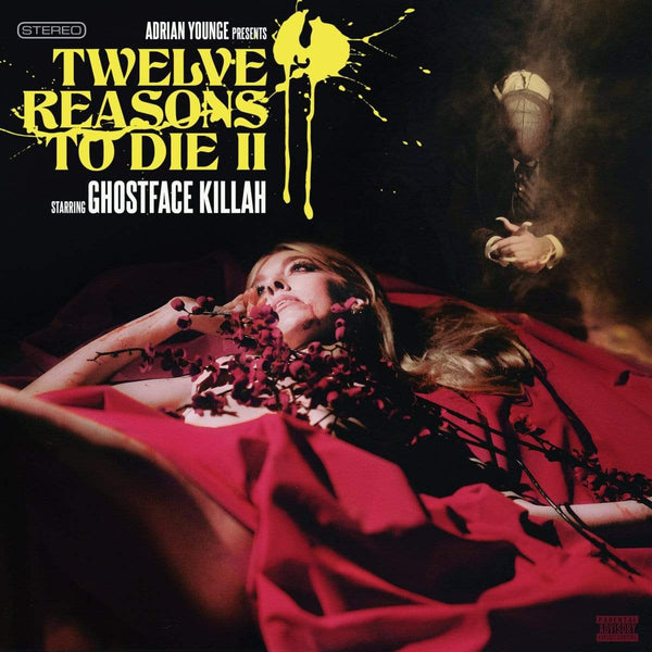 Ghostface Killah & Adrian Younge - 12 Reasons To Die II (2xCD) Linear Labs