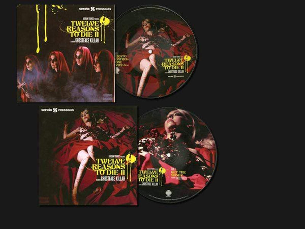 "Ghostface Killah & Adrian Younge - Get The Money feat. Vince Staples / Powerful One b/w Serato Control Tone (2x7"" - Picture Disc) Linear Labs"