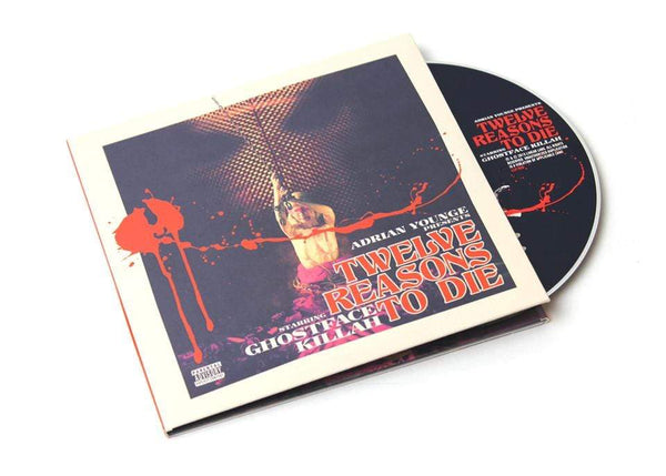 Ghostface Killah & Adrian Younge - Twelve Reasons To Die (2xCD - Deluxe Reissue + Instrumentals) Linear Labs