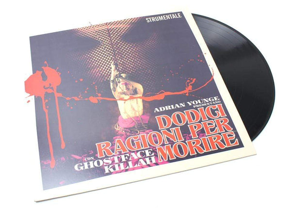 Ghostface Killah & Adrian Younge - Twelve Reasons To Die: Instrumentals (LP - Deluxe Reissue) Linear Labs