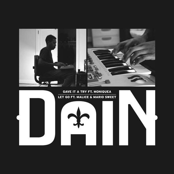 "DaiN - Gave it a Try ft. Moniquea b/w Let Go ft. Malice & Mario Sweet (7"") Liquid Beat Records"
