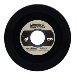 "Libretto & BusCrates - Ain't That Funky b/w Sentences ft. Vic Spencer (7"") Liquid Beat Records"
