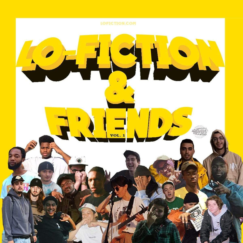 V/A - Lo-Fiction & Friends, Vol. 1 (Cassette) Lo-Fiction Records