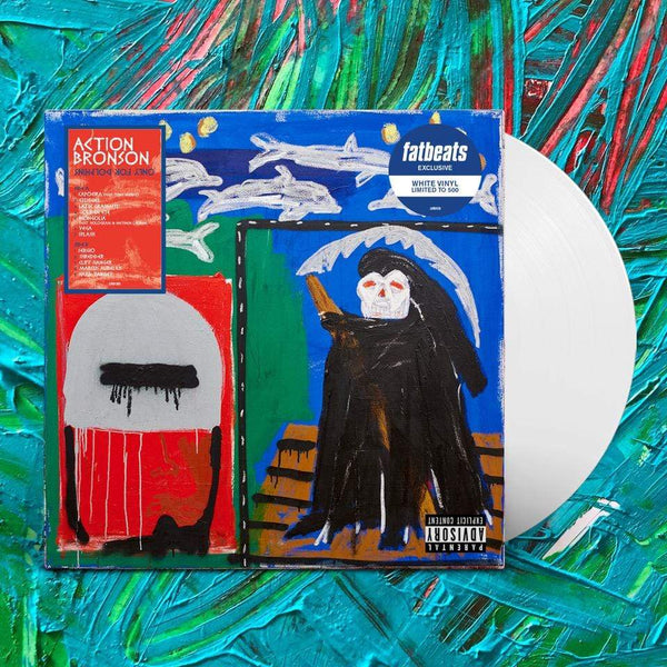 Action Bronson - Only For Dolphins (LP - Fat Beats Exclusive White Vinyl) Loma Vista