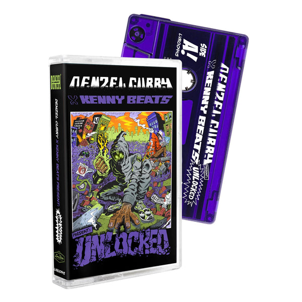 Denzel Curry & Kenny Beats - UNLOCKED (Cassette - Limited) Loma Vista