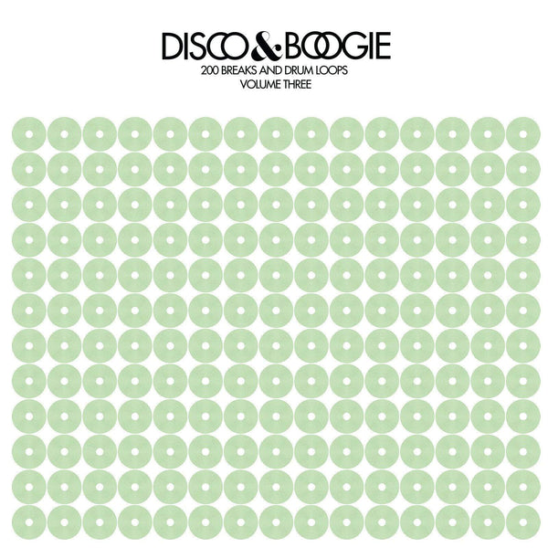 Disco & Boogie - 200 Breaks & Drum Loops, Volume 3 (Green Cover) Love Injection Records