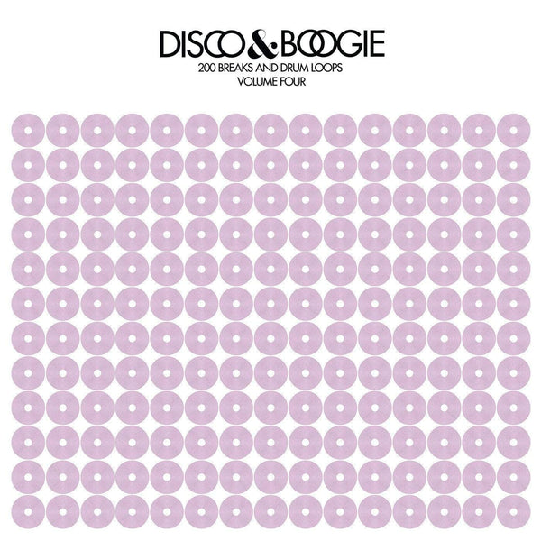 Disco & Boogie - 200 Breaks & Drum Loops, Volume 4 (Purple Cover) Love Injection Records