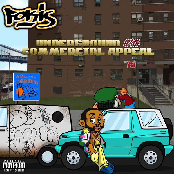 Fokis - Underground With Commercial Appeal (CD) Loyalty Digital Corp.