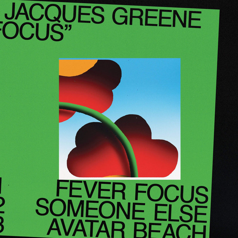 "Jacques Greene - Focus (12"") LuckyMe"