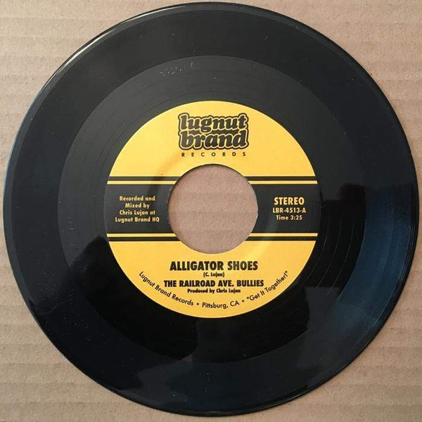 The Railroad Ave. Bullies - Alligator Shoes b/w She Ready (Digital) Lugnut Brand Records