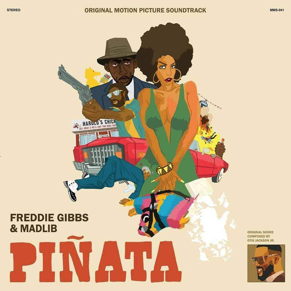 Madlib & Freddie Gibbs - Pinata: The 1974 Version (LP) Madlib Invazion