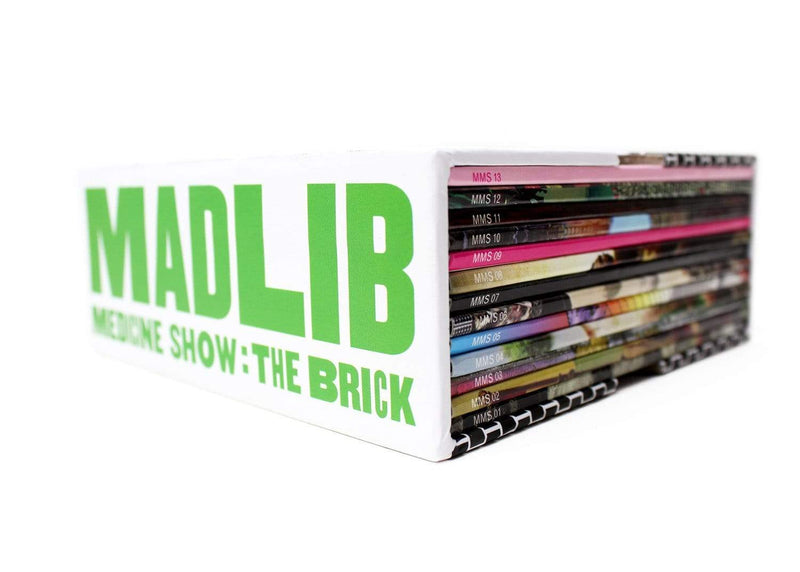 Madlib - Medicine Show: The Brick (13xCD Bundle) Madlib Invazion