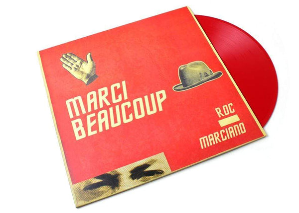 Roc Marciano - Marci Beaucoup (2xLP - Red Vinyl) Man Bites Dog Records