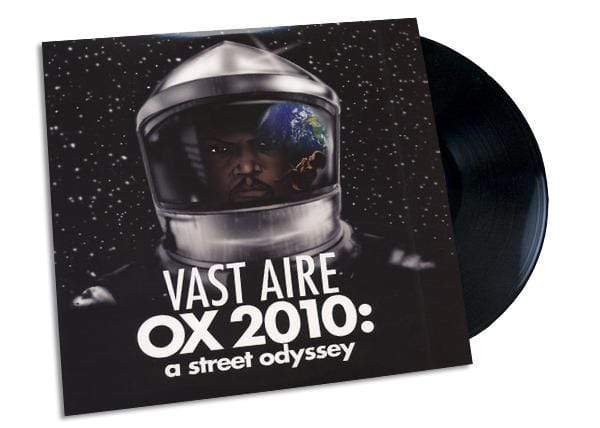 Vast Aire - OX 2010: A Street Odyssey (2xLP) Man Bites Dog Records
