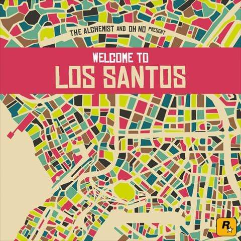 The Alchemist and Oh No - The Alchemist and Oh No Present: Welcome to Los Santos (CD) Mass Appeal