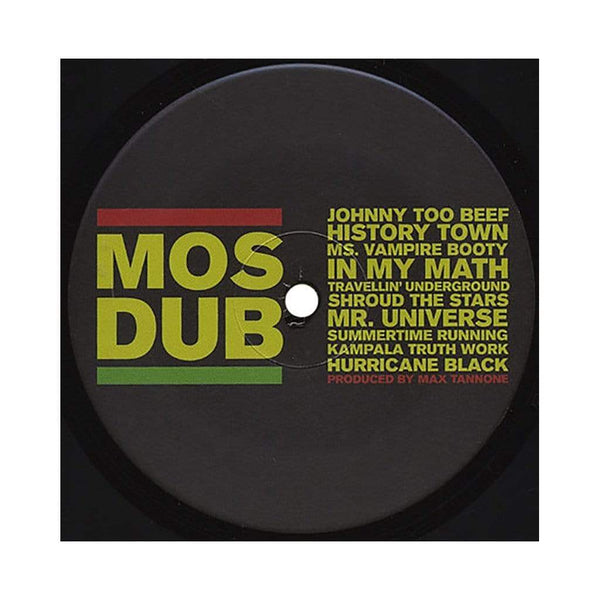 Mos Def - Mos Dub (LP - Pink/Yellow/White Swirled Vinyl) Max Tannone