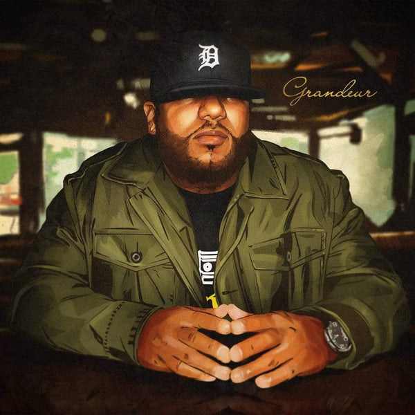 Apollo Brown - Grandeur (2xLP - Army Green Vinyl + Download Card) Mello Music Group