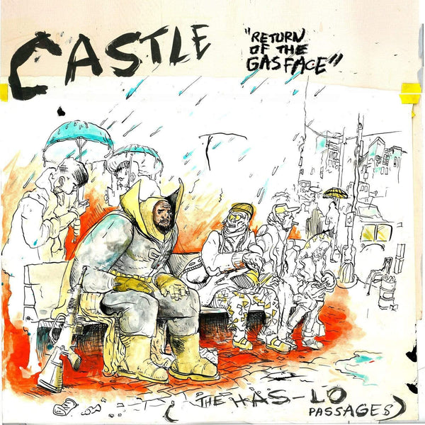 Castle - Return of the Gasface (The Has-Lo Passages) (LP) Mello Music Group