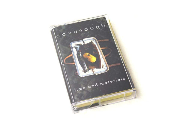 Cavanaugh (Open Mike Eagle & Serengeti) - Time and Materials (Cassette - Limited Black Shell) Mello Music Group