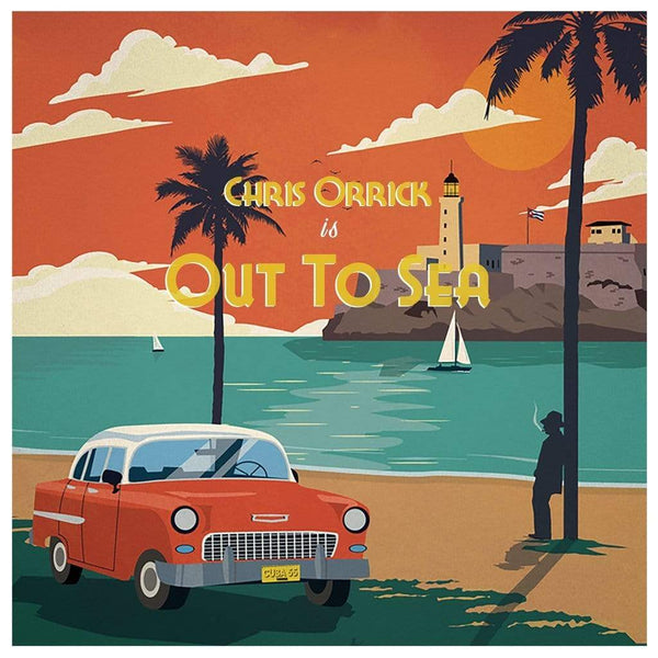 Chris Orrick - Out To Sea (LP - White Vinyl) Mello Music Group