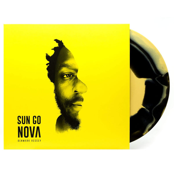 Denmark Vessey - Sun Go Nova (prod. by Earl Sweatshirt & Knxwledge) (LP - Yellow/Black Sunburst Edition) Mello Music Group