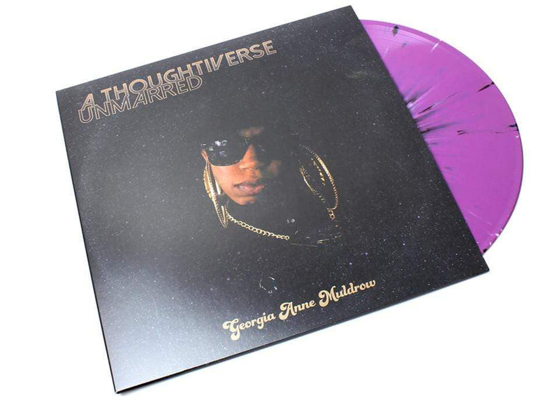 Georgia Anne Muldrow - A Thoughtiverse Unmarred (LP - Purple/Black/White Splatter Vinyl) Mello Music Group