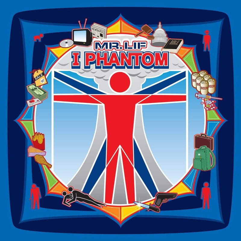 Mr. Lif - I Phantom (2xLP - Ultra-Deluxe Color In Color Splatter) Mello Music Group