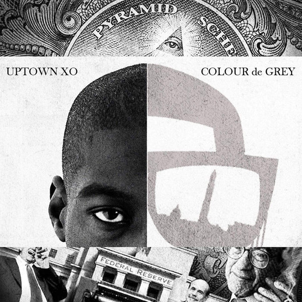 Uptown XO - Colour de Grey (LP - LTD) Mello Music Group