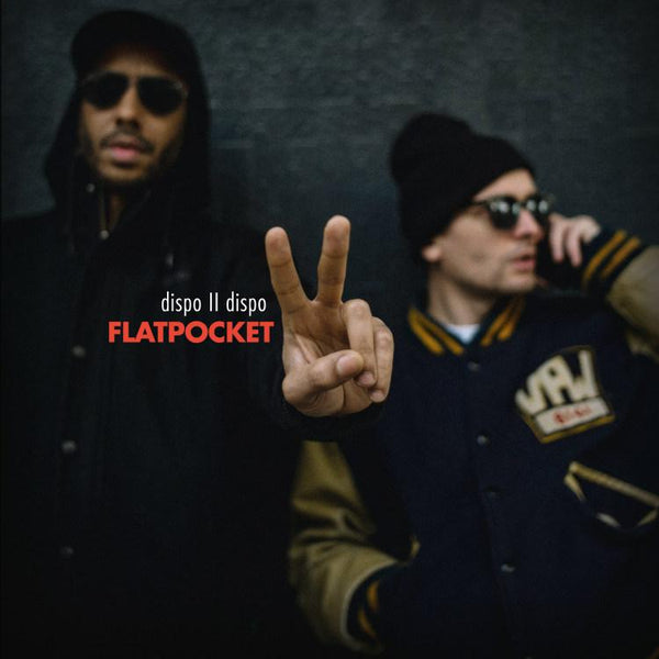 Flatpocket (Twit One & Lazy Jones) - Dispo II Dispo (LP) Melting Pot Music